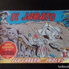 Tebeos: EL JABATO Nº 219 EDITORIAL BRUGUERA ORIGINAL 1962. Lote 134944654