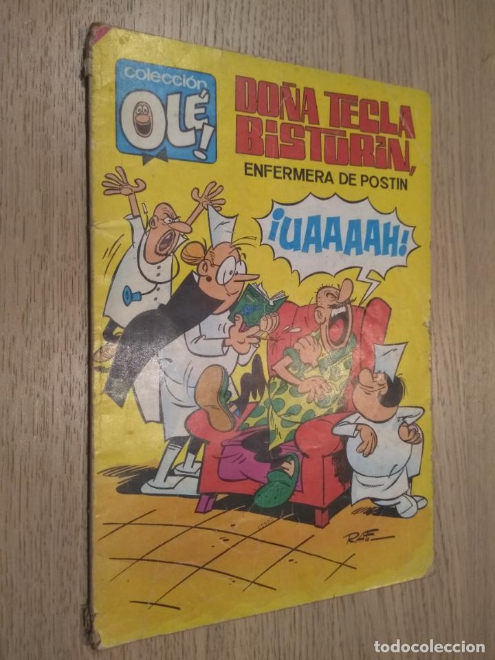 COLECCIÓN OLÉ! DOÑA TECLA BISTURÍN. BRUGUERA. Nº 17. 1985 (Tebeos y Comics - Bruguera - Ole)