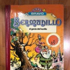 Tebeos: BERMUDILLO - EL GENIO DEL HATILLO- GRAN BRAVO 1A EDICIÓN. Lote 155251212