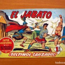 Tebeos: EL JABATO, Nº 86, DESTINOS CRUZADOS - EDITORIAL BRUGUERA 1958. Lote 135235030