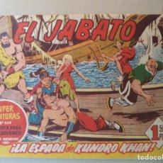 BDs: EL JABATO Nº 124 ORIGINAL. Lote 135304850
