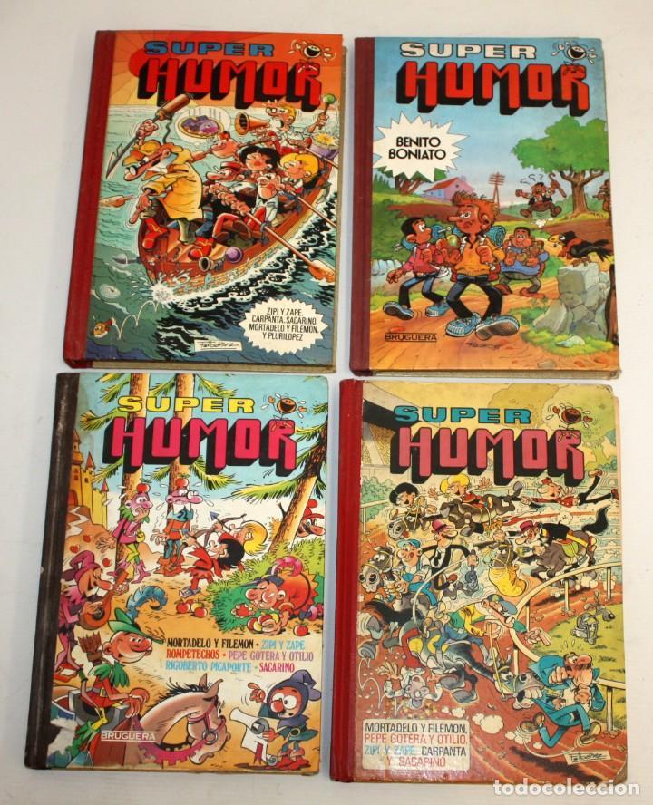 16 TOMOS DE SUPER HUMOR EDITORIAL BRUGUERA. (Tebeos y Comics - Bruguera - Super Humor)