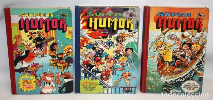 Tebeos: 16 TOMOS DE SUPER HUMOR EDITORIAL BRUGUERA. - Foto 2 - 138527202