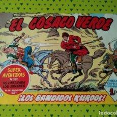 Tebeos: TEBEO DEL COSACO VERDE Nº 1 DE 1960. Lote 135461986