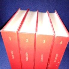 Tebeos: EL CACHORRO 4 TOMOS 213 NUMEROS COMPLETA. Lote 135519054