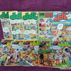 Tebeos: LOTE DE 10 ANTIGUOS COMICS DE DDT Y SUPER DDT, BRUGUERA, 70´S - 80´S. Lote 135521850