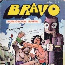 Tebeos: BRAVO-Nº 7 -EL CACHORRO-Nº 4 -1976 -´LA MALDICIÓN DE KALA`- GENIAL IRANZO- TODO UN CLÁSICO-LEAN-9460. Lote 135587798