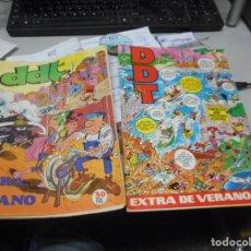Tebeos: LOTE DOS DDT EXTRA DE VERANO. Lote 135593150