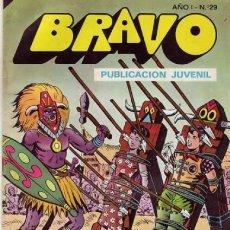 Tebeos: BRAVO- Nº 29 -EL CACHORRO- Nº 15- 1976 -LOS ANTROPÓFAGOS- GENIAL IRANZO-UN CLÁSICO-LEAN-DIFÍCIL-9466. Lote 135594769