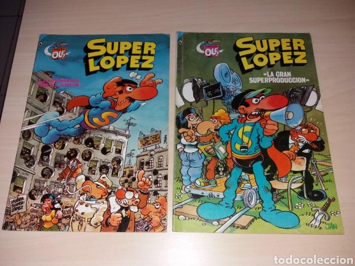 SUPER LÓPEZ - BRUGUERA OLÉ - SEGUNDA EDICIÓN 1986 (Tebeos y Comics - Bruguera - Ole)