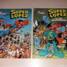 Tebeos: SUPER LÓPEZ - BRUGUERA OLÉ - SEGUNDA EDICIÓN 1986. Lote 135608142