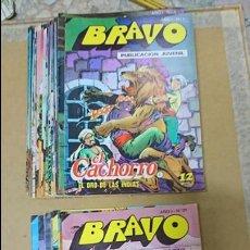 Tebeos: BRAVO PUBLICACION JUVENIL. Lote 135548914
