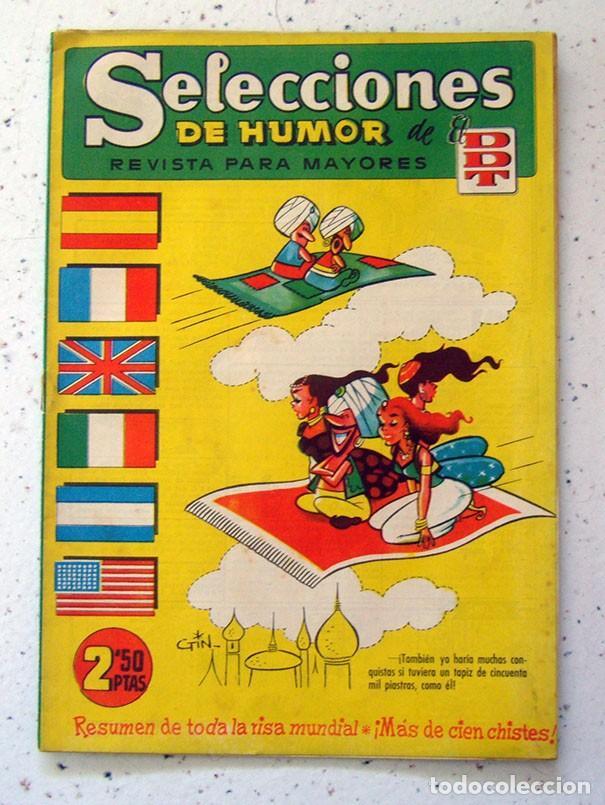 TEBEO . COMIC . SELECCIONES DE HUMOR DE EL DDT . NUMERO 76 (Tebeos y Comics - Bruguera - DDT)