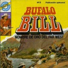 Tebeos: BÚFALO BILL- Nº 8 - CÓMICS BRUGUERA-ÚLTIMO REBAÑO A WYOMING-JESÚS BLASCO-DIFÍCIL-MUY BUENO-LEAN-9471. Lote 135708687
