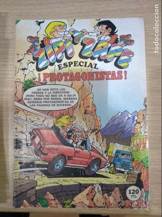 ZIPI Y ZAPE ESPECIAL 133 - ESPECIAL PROTAGONISTAS - J0053 (Tebeos y Comics - Bruguera - Cuadernillos Varios)