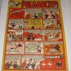 Tebeos: PULGARCITO 169. ALBUM INTANFIL. CARPANTA ARTISTA DE CIRCO (POR ESCOBAR). Lote 135773574
