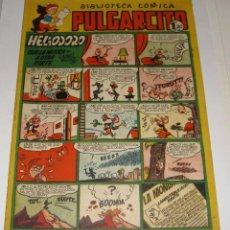 Tebeos: PULGARCITO 170. BIBLIOTECA CÓMICA. HELIODORO CON LA MUSICA A OTRA PARTE (POR MANUEL VAZQUEZ).. Lote 135773866