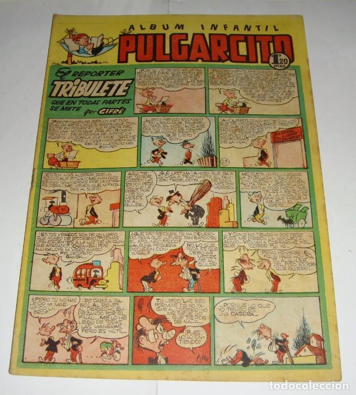 PULGARCITO 187. ALBUM INFANTIL. EL REPORTER TRIBULETE (POR CIFRÉ) (Tebeos y Comics - Bruguera - Pulgarcito)