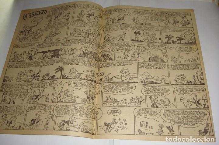 Tebeos: Pulgarcito 187. Album Infantil. EL REPORTER TRIBULETE (por Cifré) - Foto 2 - 135785710