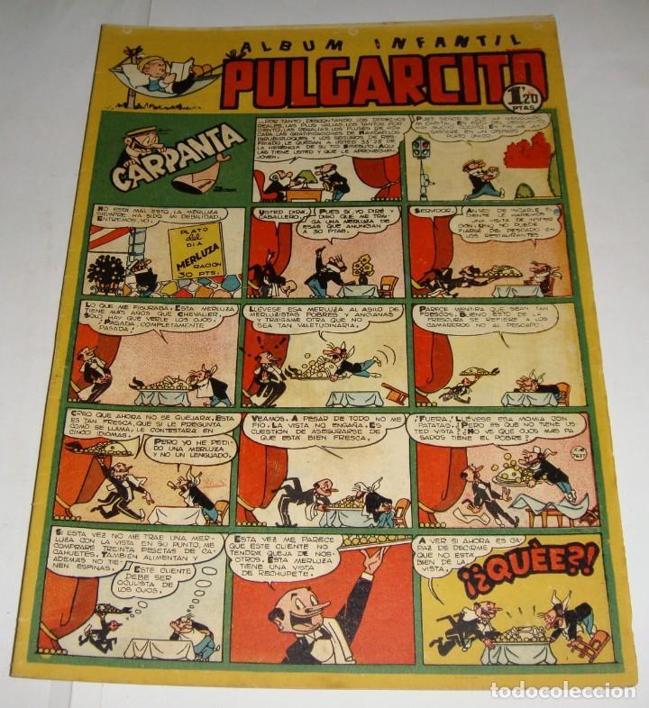 PULGARCITO 209. ALBUM INFANTIL. CARPANTA (Tebeos y Comics - Bruguera - Pulgarcito)