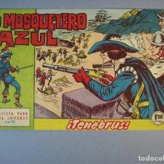 Tebeos: MOSQUETERO AZUL, EL (1962, BRUGUERA) 14 · 17-IX-1962 · TRETA MORTAL. Lote 135951270