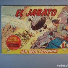 Tebeos: JABATO, EL (1958, BRUGUERA) 200 · 13-VIII-1962 · LA RISA FATIDICA. Lote 135953594