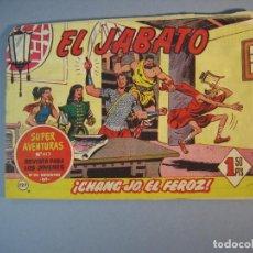 Tebeos: JABATO, EL (1958, BRUGUERA) 127 · 20-III-1961 · CHANG-JO, EL FEROZ. Lote 135954346