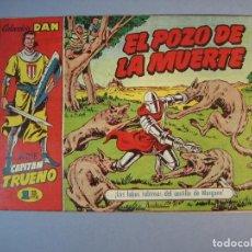 Tebeos: CAPITAN TRUENO, EL (1956, BRUGUERA) 11 · 26-X-1956 · EL POZO DE LA MUERTE. Lote 135955098