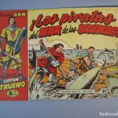 Tebeos: CAPITAN TRUENO, EL (1956, BRUGUERA) 31 · 3-V-1957 · ¡EL PIRATA DEL MAR DE LAS BRUMAS!. Lote 135955222
