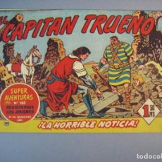 Tebeos: CAPITAN TRUENO, EL (1956, BRUGUERA) 141 · 15-VI-1959 · LA HORRIBLE NOTICIA. Lote 136036846