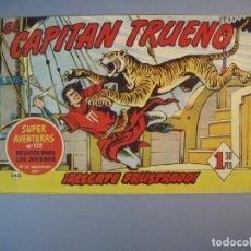 Tebeos: CAPITAN TRUENO, EL (1956, BRUGUERA) 145 · 13-VII-1959 · RESCATE FRUSTRADO. Lote 136039534