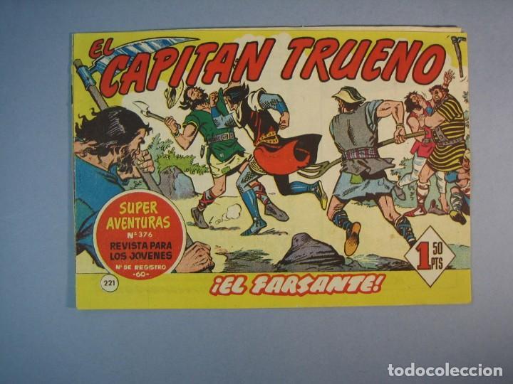 CAPITAN TRUENO, EL (1956, BRUGUERA) 221 · 26-XII-1960 · EL FARSANTE (Tebeos y Comics - Bruguera - Capitán Trueno)