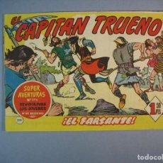 Tebeos: CAPITAN TRUENO, EL (1956, BRUGUERA) 221 · 26-XII-1960 · EL FARSANTE. Lote 136040322