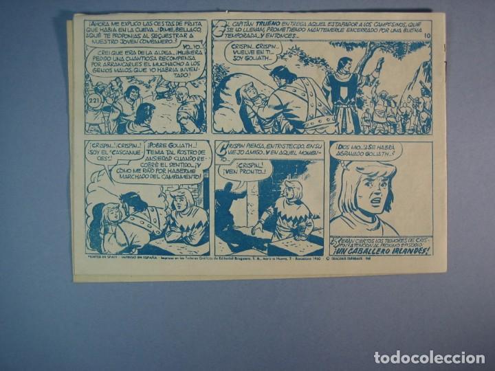 Tebeos: CAPITAN TRUENO, EL (1956, BRUGUERA) 221 · 26-XII-1960 · EL FARSANTE - Foto 2 - 136040322