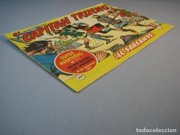 Tebeos: CAPITAN TRUENO, EL (1956, BRUGUERA) 221 · 26-XII-1960 · EL FARSANTE - Foto 3 - 136040322