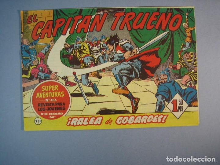 CAPITAN TRUENO, EL (1956, BRUGUERA) 231 · 6-III-1961 · RALEA DE COBARDES (Tebeos y Comics - Bruguera - Capitán Trueno)