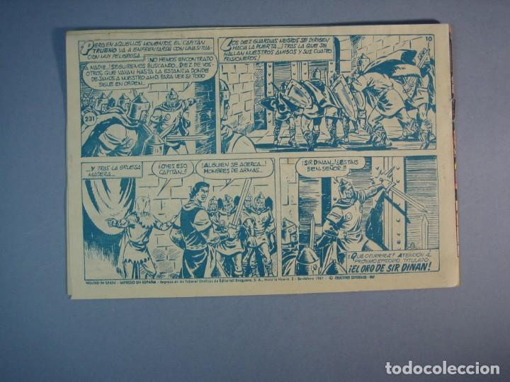Tebeos: CAPITAN TRUENO, EL (1956, BRUGUERA) 231 · 6-III-1961 · RALEA DE COBARDES - Foto 2 - 136042770