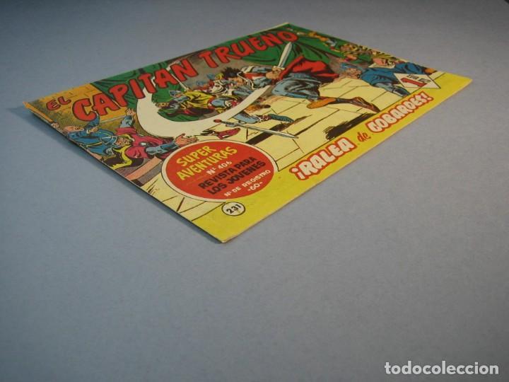 Tebeos: CAPITAN TRUENO, EL (1956, BRUGUERA) 231 · 6-III-1961 · RALEA DE COBARDES - Foto 3 - 136042770