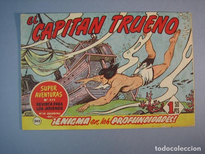CAPITAN TRUENO, EL (1956, BRUGUERA) 242 · 22-V-1961 · ENIGMA EN LAS PROFUNDIDADES (Tebeos y Comics - Bruguera - Capitán Trueno)