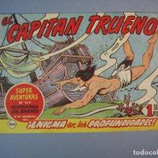 Tebeos: CAPITAN TRUENO, EL (1956, BRUGUERA) 242 · 22-V-1961 · ENIGMA EN LAS PROFUNDIDADES. Lote 136043270