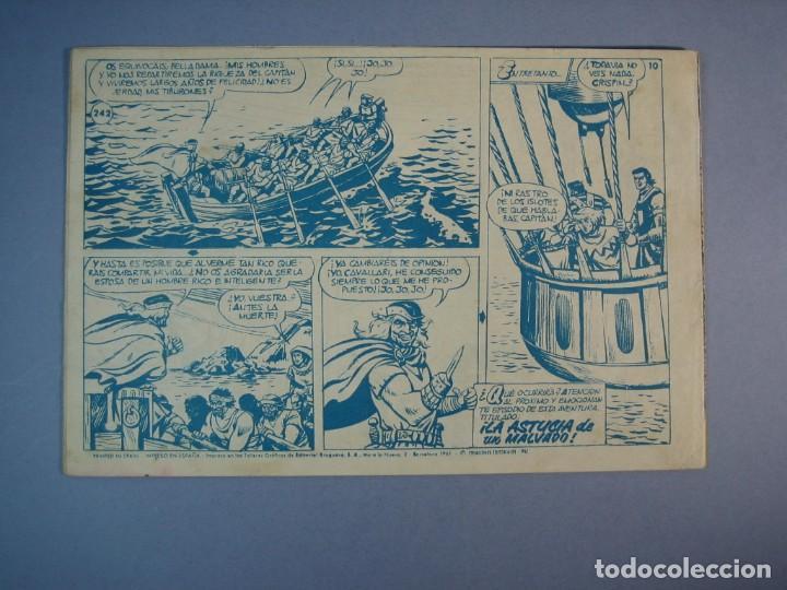 Tebeos: CAPITAN TRUENO, EL (1956, BRUGUERA) 242 · 22-V-1961 · ENIGMA EN LAS PROFUNDIDADES - Foto 2 - 136043270