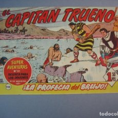 Tebeos: CAPITAN TRUENO, EL (1956, BRUGUERA) 266 · 6-XI-1961 · LA PROFECIA DEL BRUJO. Lote 136043618
