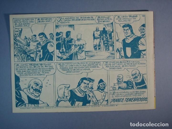 Tebeos: CAPITAN TRUENO, EL (1956, BRUGUERA) 266 · 6-XI-1961 · LA PROFECIA DEL BRUJO - Foto 2 - 136043618