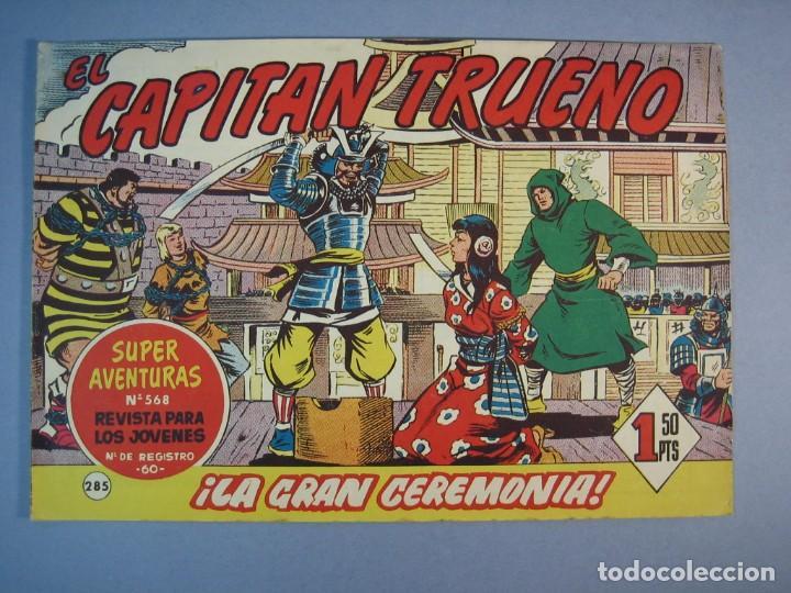 CAPITAN TRUENO, EL (1956, BRUGUERA) 285 · 19-III-1962 · LA GRAN CEREMONIA (Tebeos y Comics - Bruguera - Capitán Trueno)