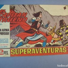 Tebeos: CAPITAN TRUENO, EL (1956, BRUGUERA) 471 · 11-X-1965 · UN ARMA IMPROVISADA. Lote 136046446