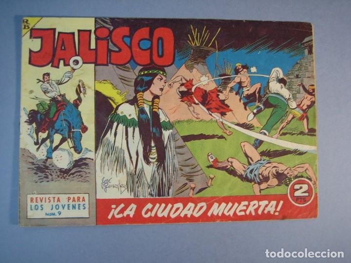 JALISCO (1963, BRUGUERA) 9 · 10-II-1964 · LA CIUDAD MUERTA (Tebeos y Comics - Bruguera - Otros)