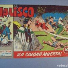 Tebeos: JALISCO (1963, BRUGUERA) 9 · 10-II-1964 · LA CIUDAD MUERTA. Lote 136050686