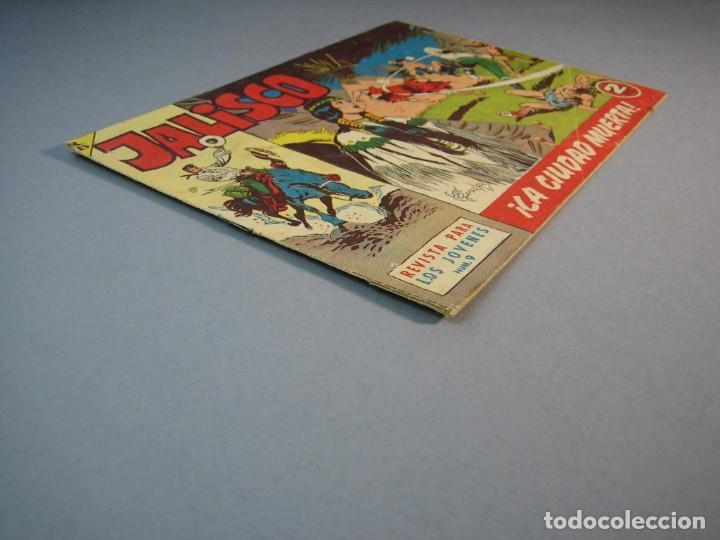 Tebeos: JALISCO (1963, BRUGUERA) 9 · 10-II-1964 · LA CIUDAD MUERTA - Foto 3 - 136050686