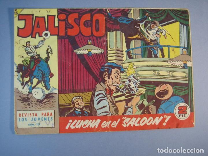 """JALISCO (1963, BRUGUERA) 13 · 9-III-1964 · LUCHA EN EL """"SALOON"""" (Tebeos y Comics - Bruguera - Otros)"""