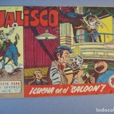 """Tebeos: JALISCO (1963, BRUGUERA) 13 · 9-III-1964 · LUCHA EN EL """"SALOON"""". Lote 136051250"""